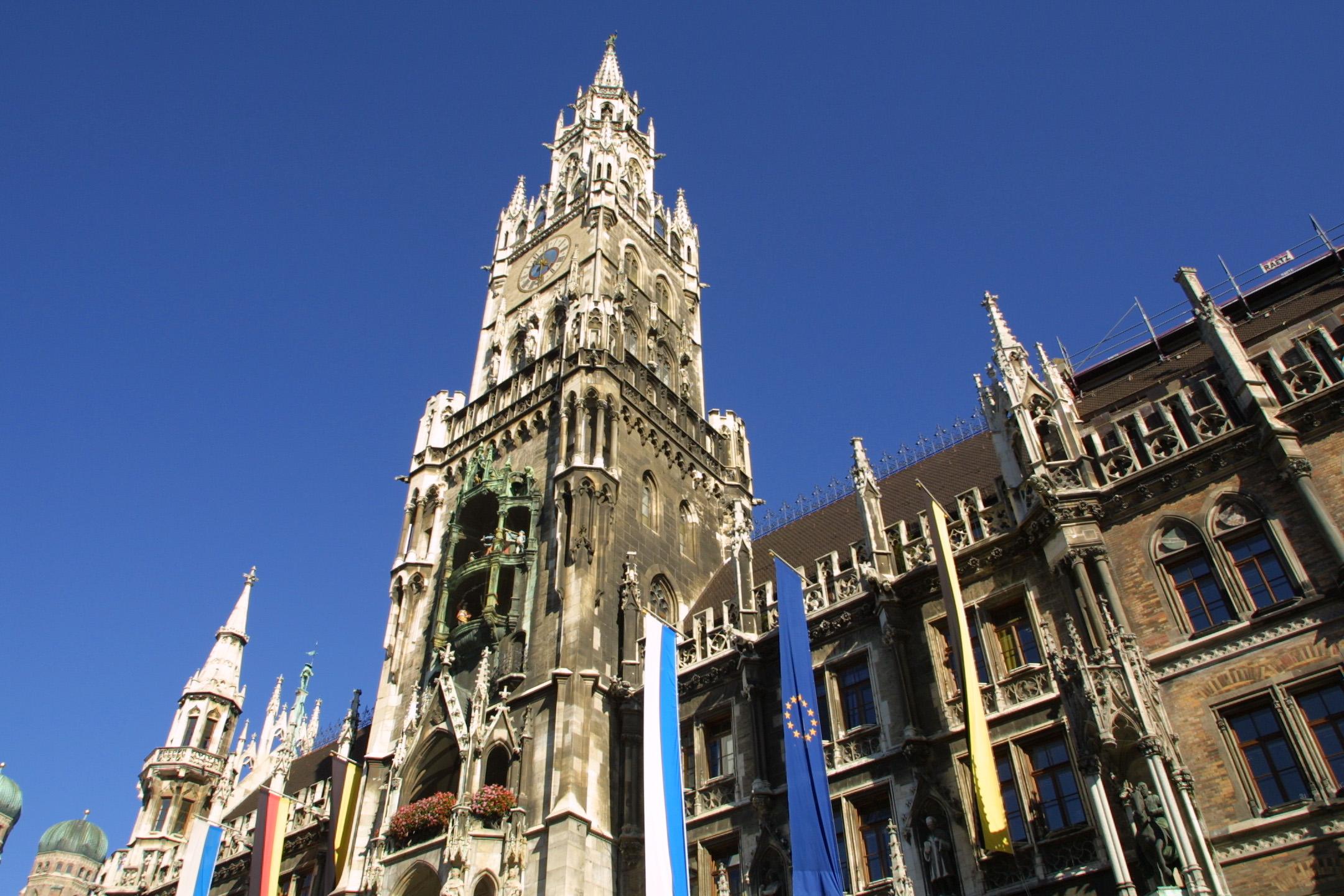 Münchner Rathaus - Nagy -Presseamt München